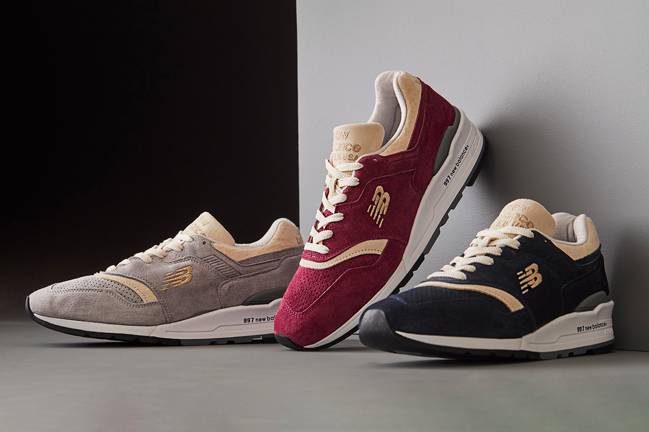 Todd Snyder x New Balance Triborough Collection at werd.com