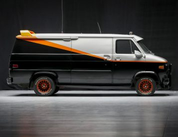 Original A-Team Van Goes Up for Auction