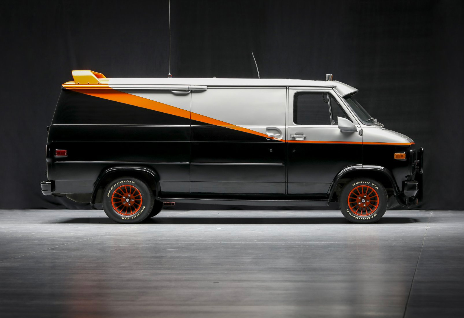 Original A-Team Van Goes Up for Auction at werd.com
