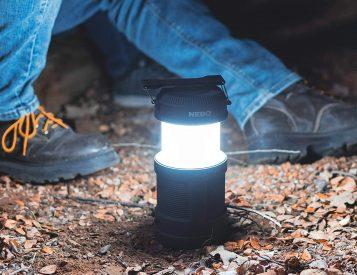 Big Poppy Gives You a Spotlight, Lantern, Candle & Power