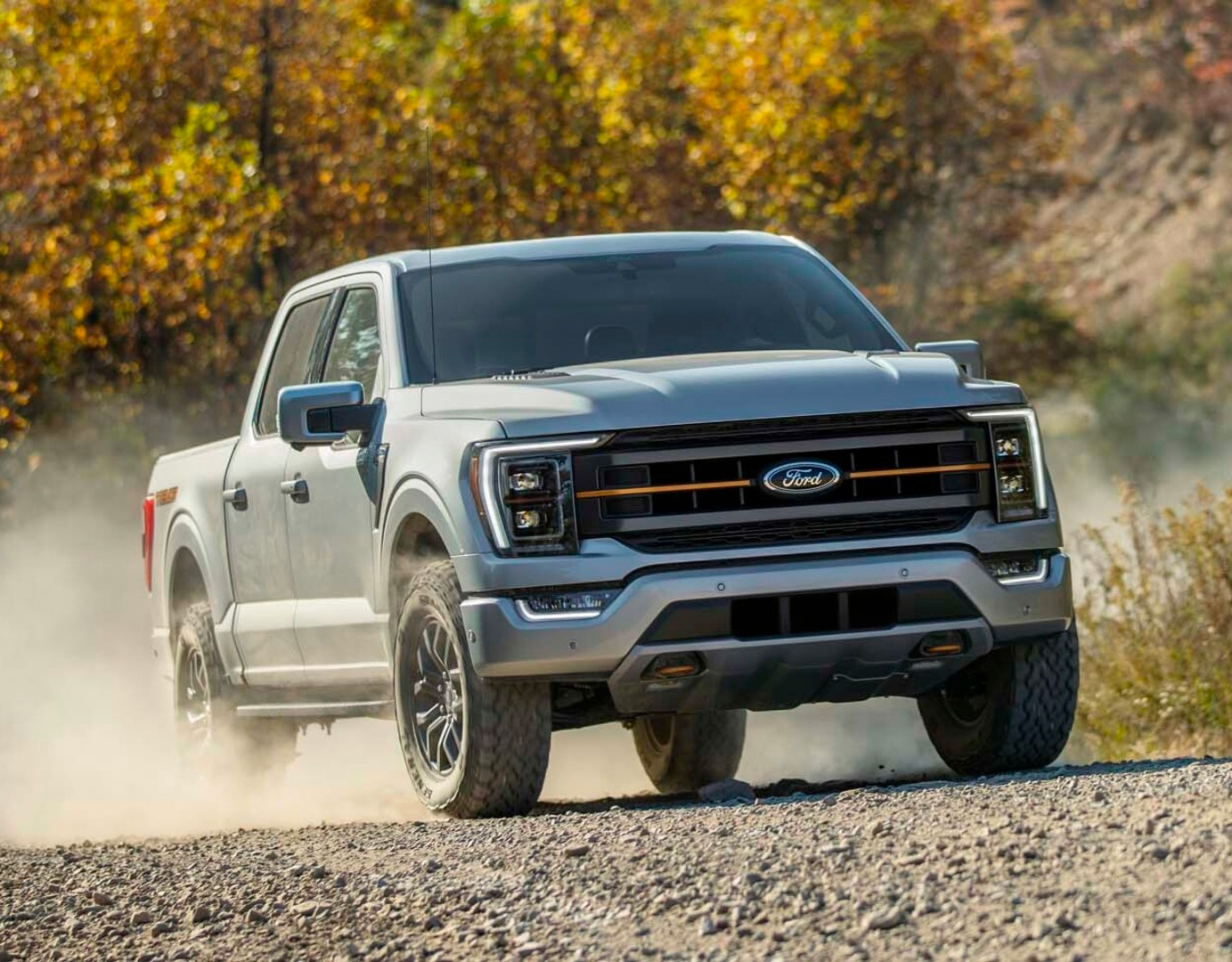 Ford Takes It Off-Road with 2021 F-150 Tremor at werd.com