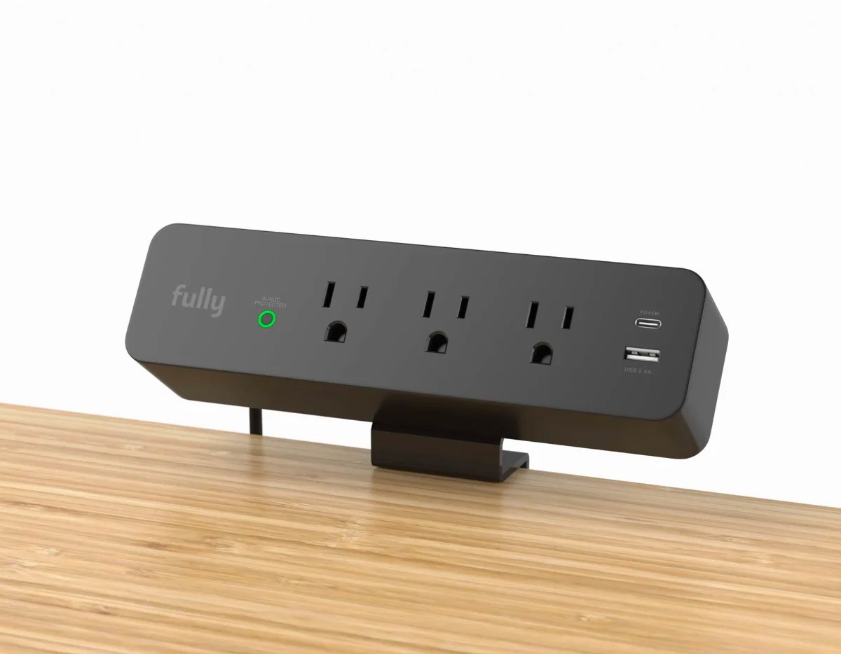 Fully Makes Desktop Ports & Power Easier Than Ever at werd.com