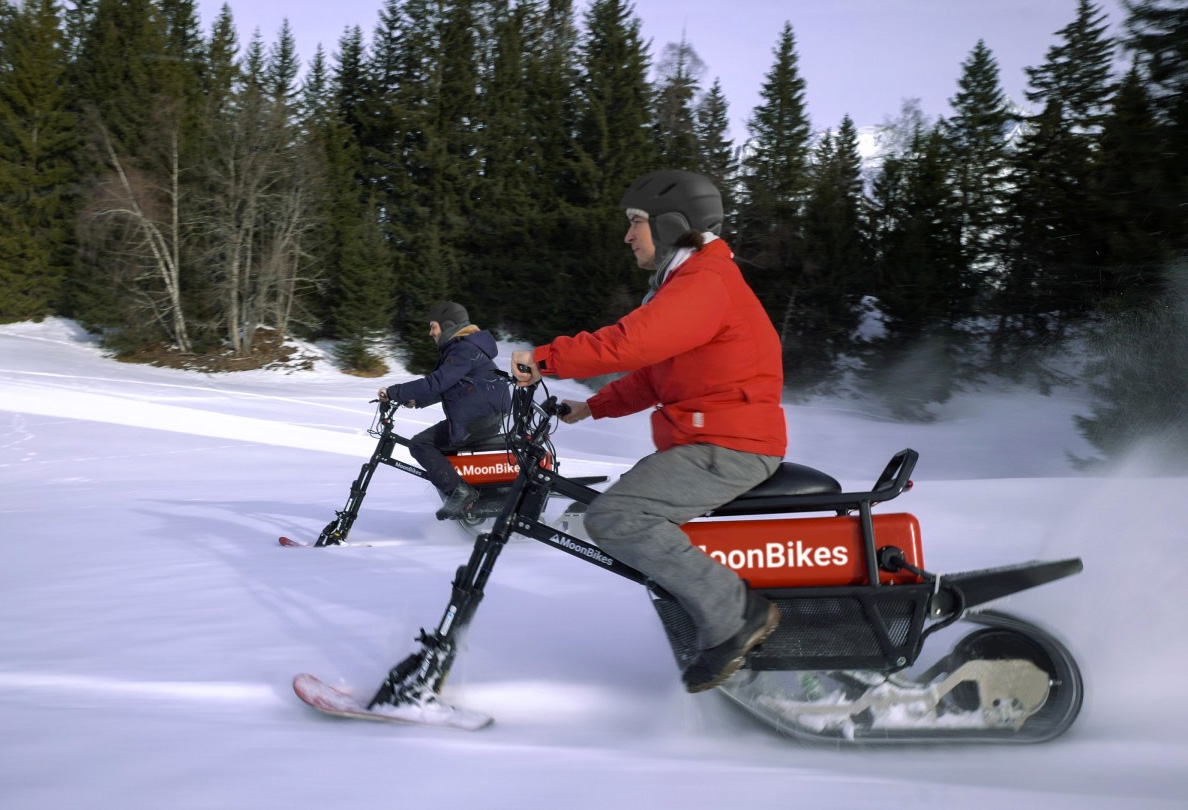 Shred the Powder on Your Electric Moonbike at werd.com