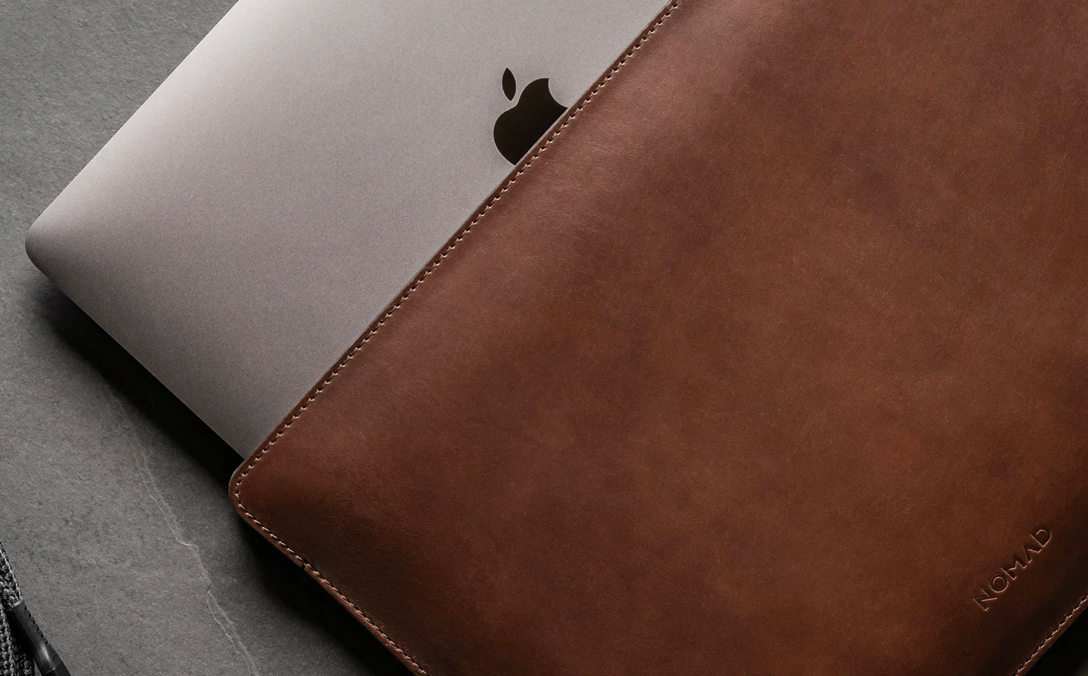 Nomad's Horween Sleeve is a Perfect Fit for Your Mac at werd.com