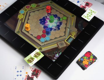 Play a New Way with the SquareOne Board Game Console