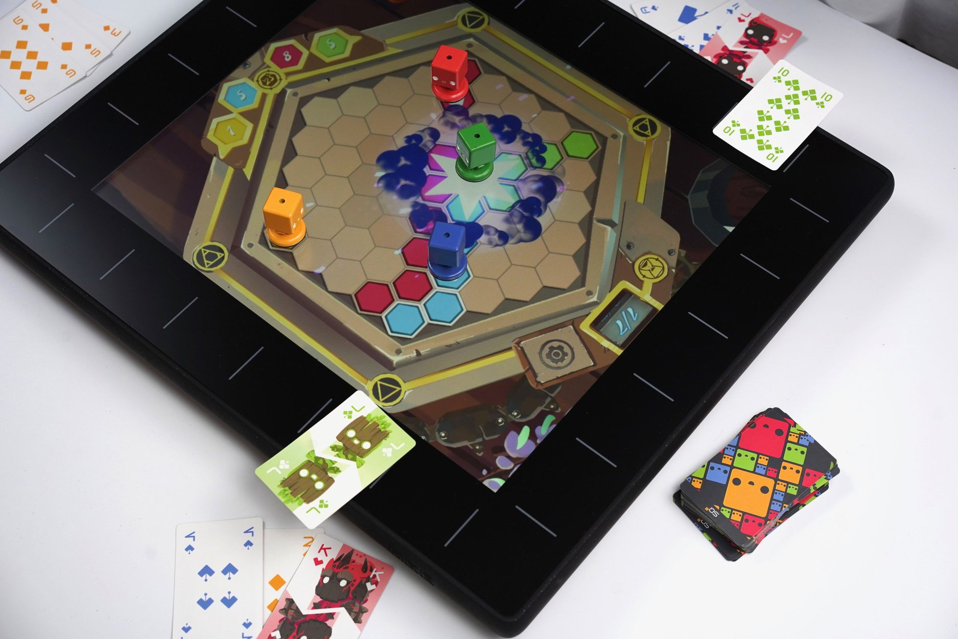 Play a New Way with the SquareOne Board Game Console at werd.com