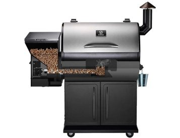 Real Wood Flavor: Pellet-Fired Z Grills