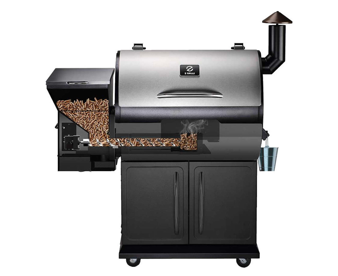 Real Wood Flavor: Pellet-Fired Z Grills at werd.com