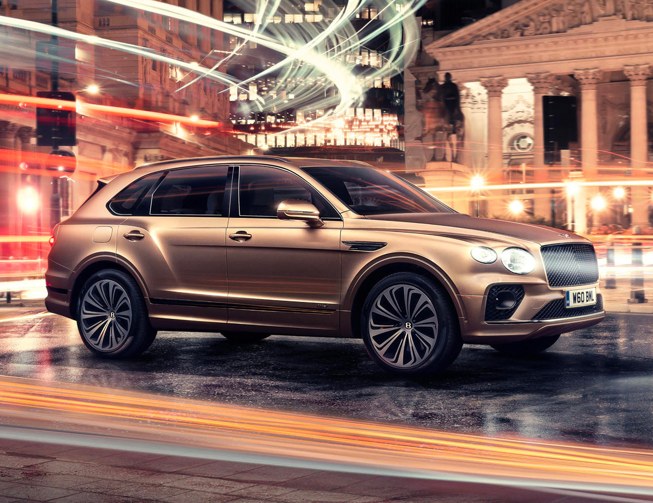 Bentley Rolls Out 2021 Bentayga Hybrid at werd.com