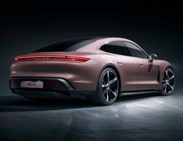 For 2021 Porsche Rolls Out Lighter, Leaner Taycan