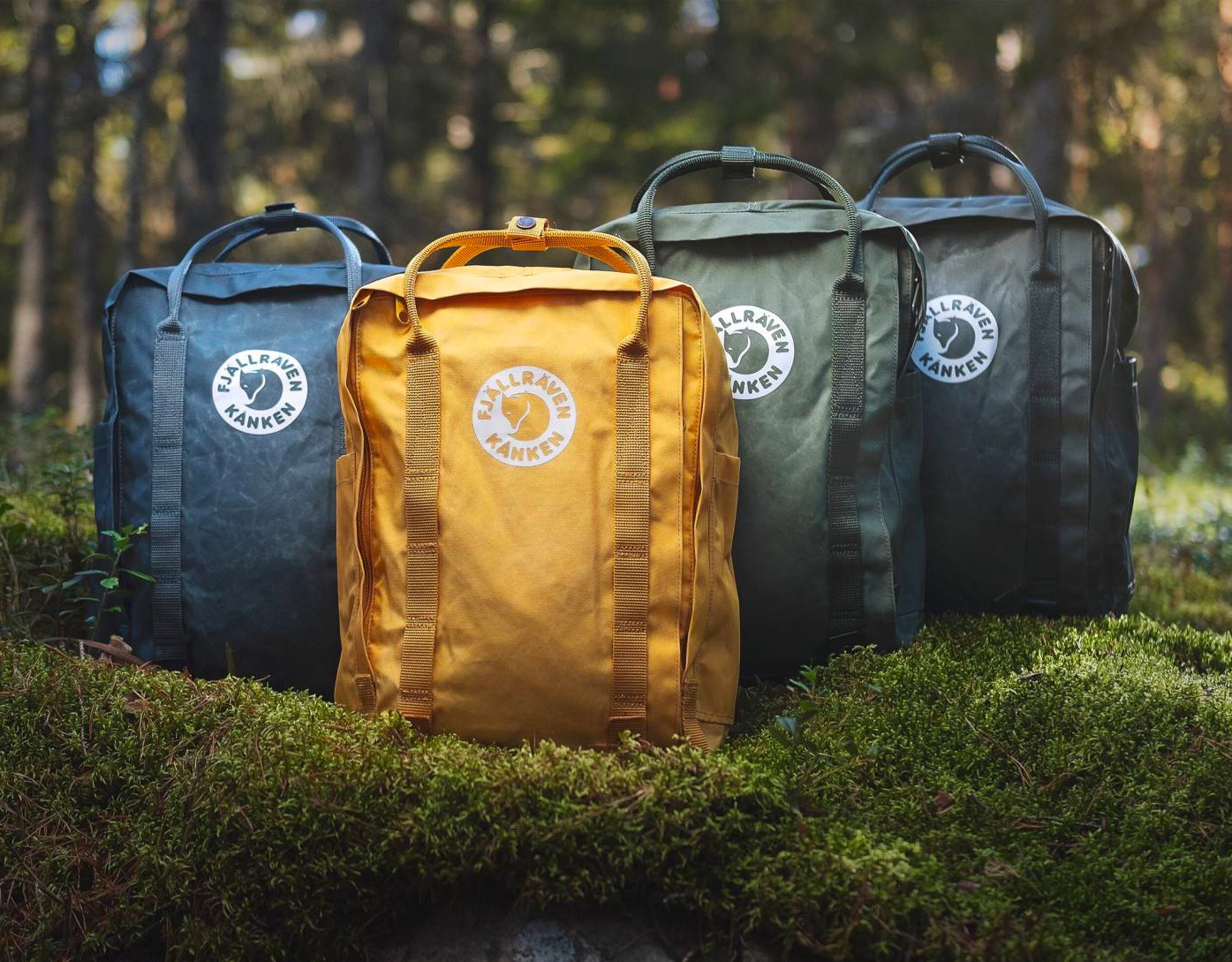 Fjallraven Goes 100% Bio-Based with Tree-Kanken Daypack at werd.com
