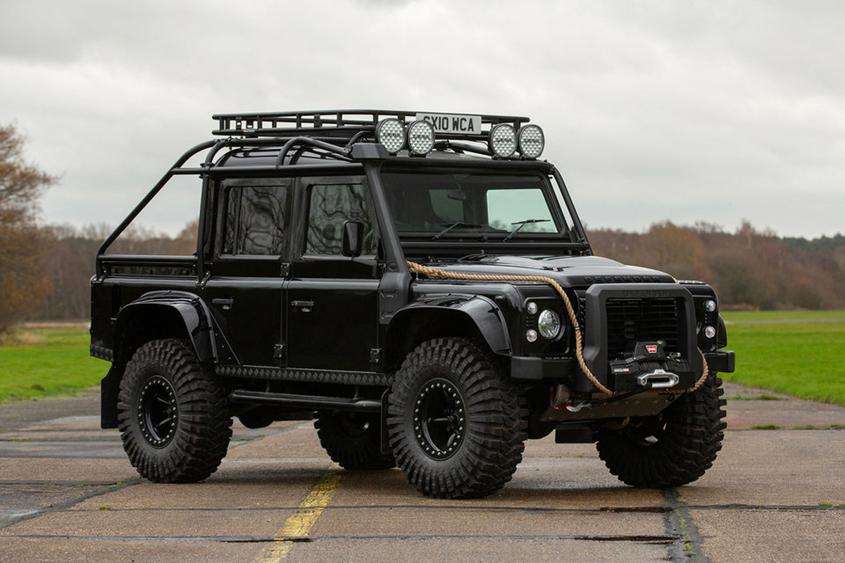Sotheby's To Auction Off 7 Bowler-Built Custom Rovers at werd.com