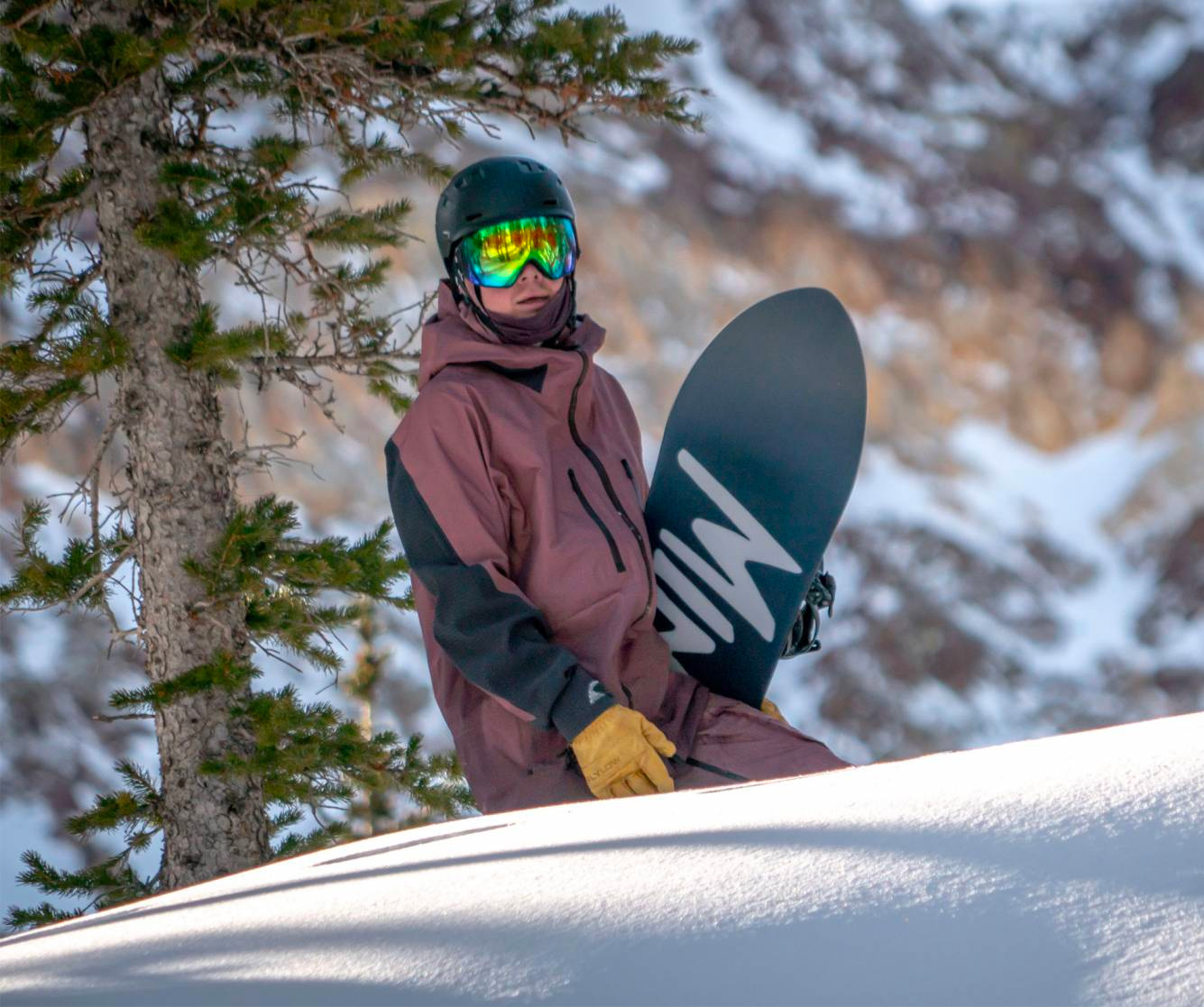 Burton Drops Mine77 Winter Backcountry Capsule at werd.com