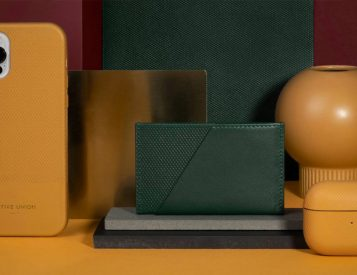 Treat Your Tech To Rich Italian Leather