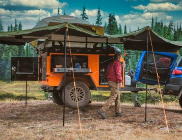 Go the Distance in an All-Aluminum Overland Trailer from Off Grid
