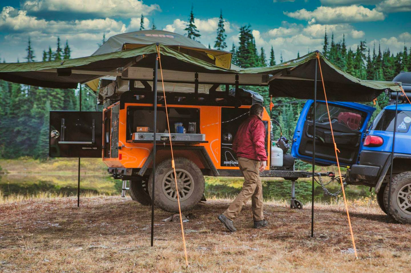 Go the Distance in an All-Aluminum Overland Trailer from Off Grid at werd.com