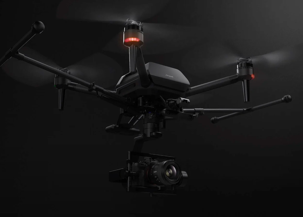 Sony Introduces Airpeak Drone to Launch it's Alphas at werd.com
