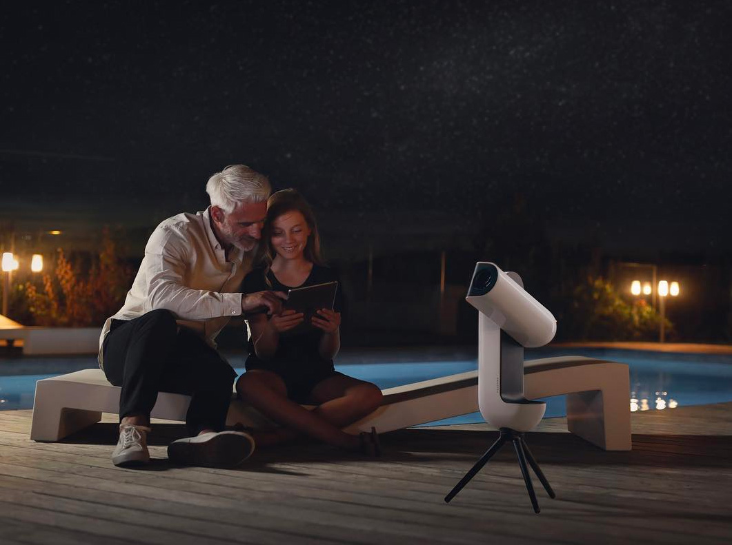 View Deep Space with the Vespera Smart Telescope at werd.com