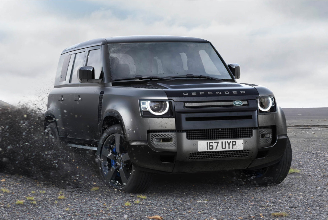 The 2022 Defender V8 is the Most Powerful Land Rover Ever at werd.com