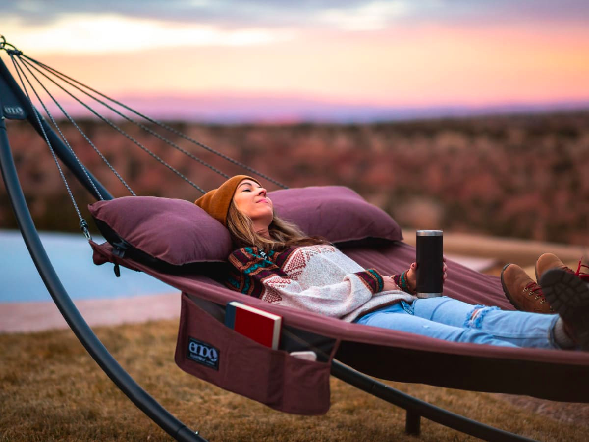 You Can Definitely Hang with ENO's Deluxe SuperNest Hammock at werd.com