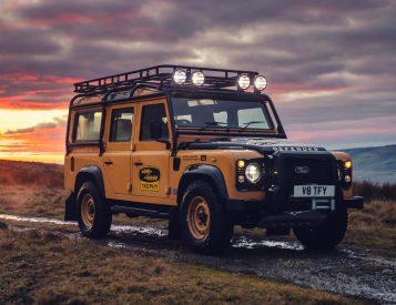 Land Rover Unveils Limited Defender Works V8 Trophy