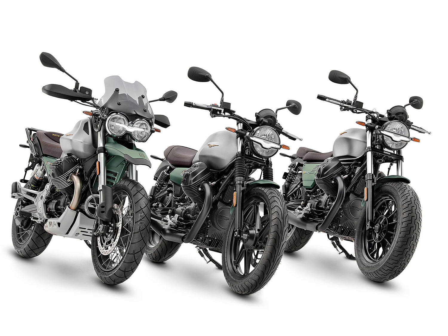 Moto Guzzi Turns 100 & Celebrates with a Range of Race-Inspired Rides at werd.com