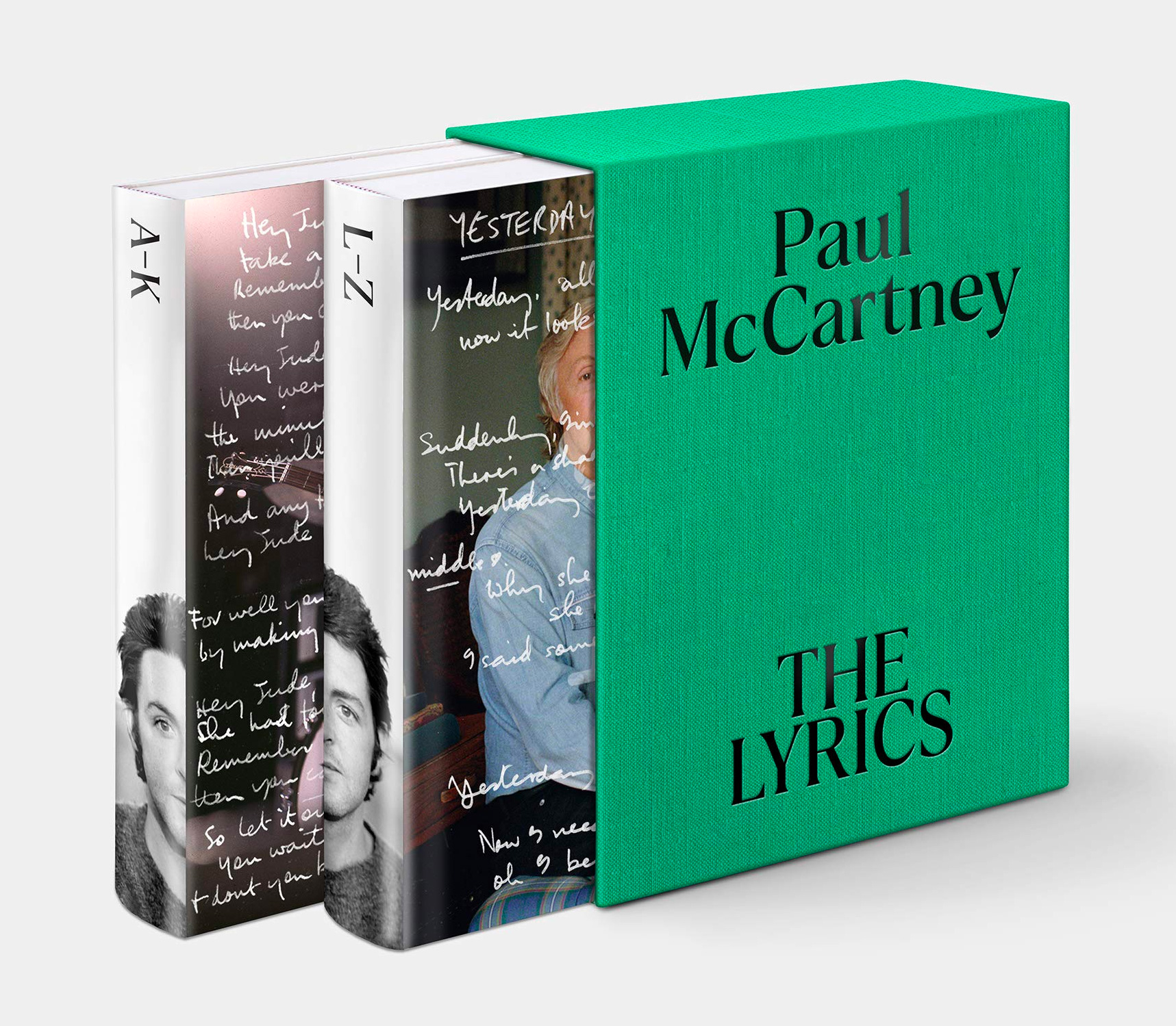 Paul McCartney to Release 2-Volume Memoir <i>The Lyrics</i> at werd.com