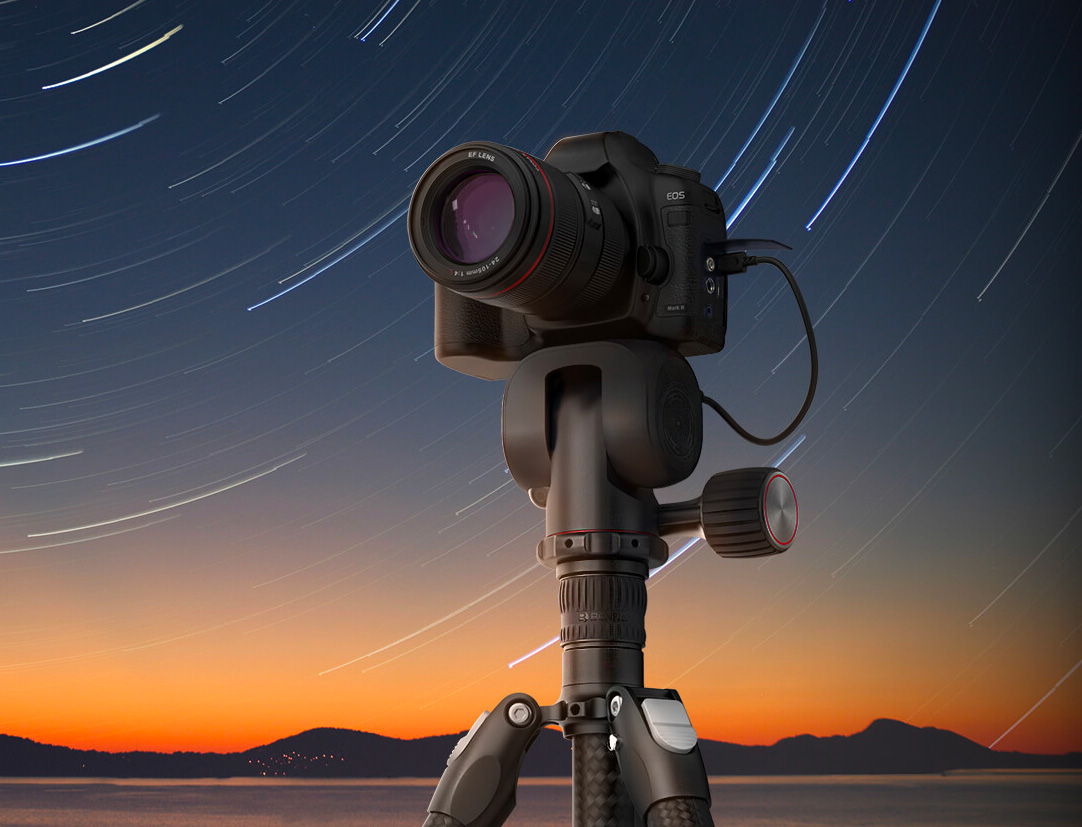 Track Stars Across the Sky with the Polaris Tripod at werd.com