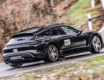Porsche Introduces 2022 Taycan Cross Turismo