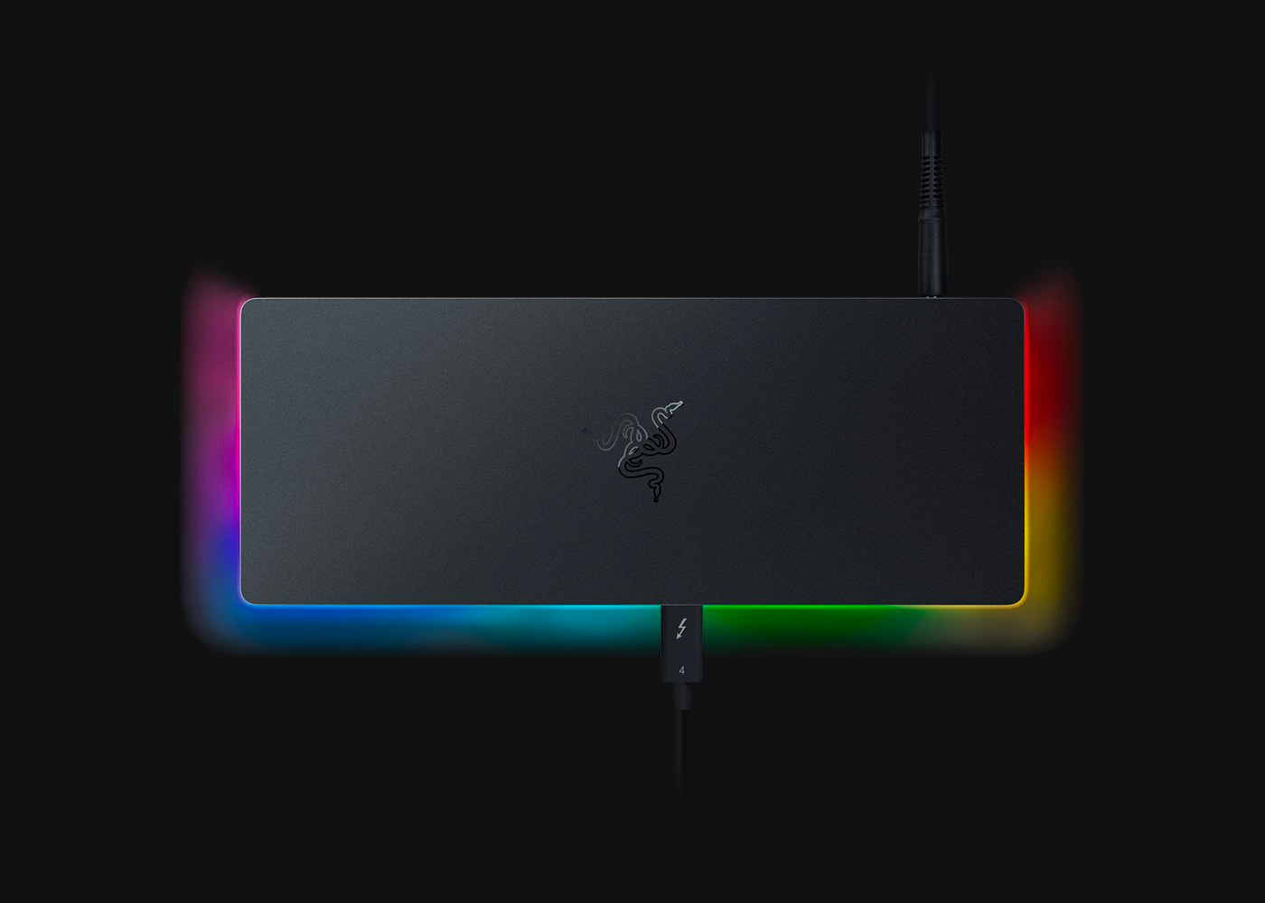 Razer Packed All the Ports & RGB into this Thunderbolt 4 Dock at werd.com