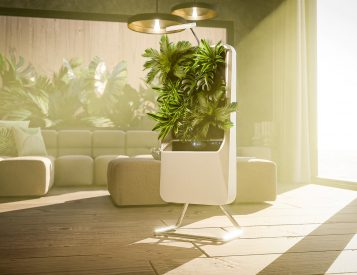 Respira Purifies the Air with Plants
