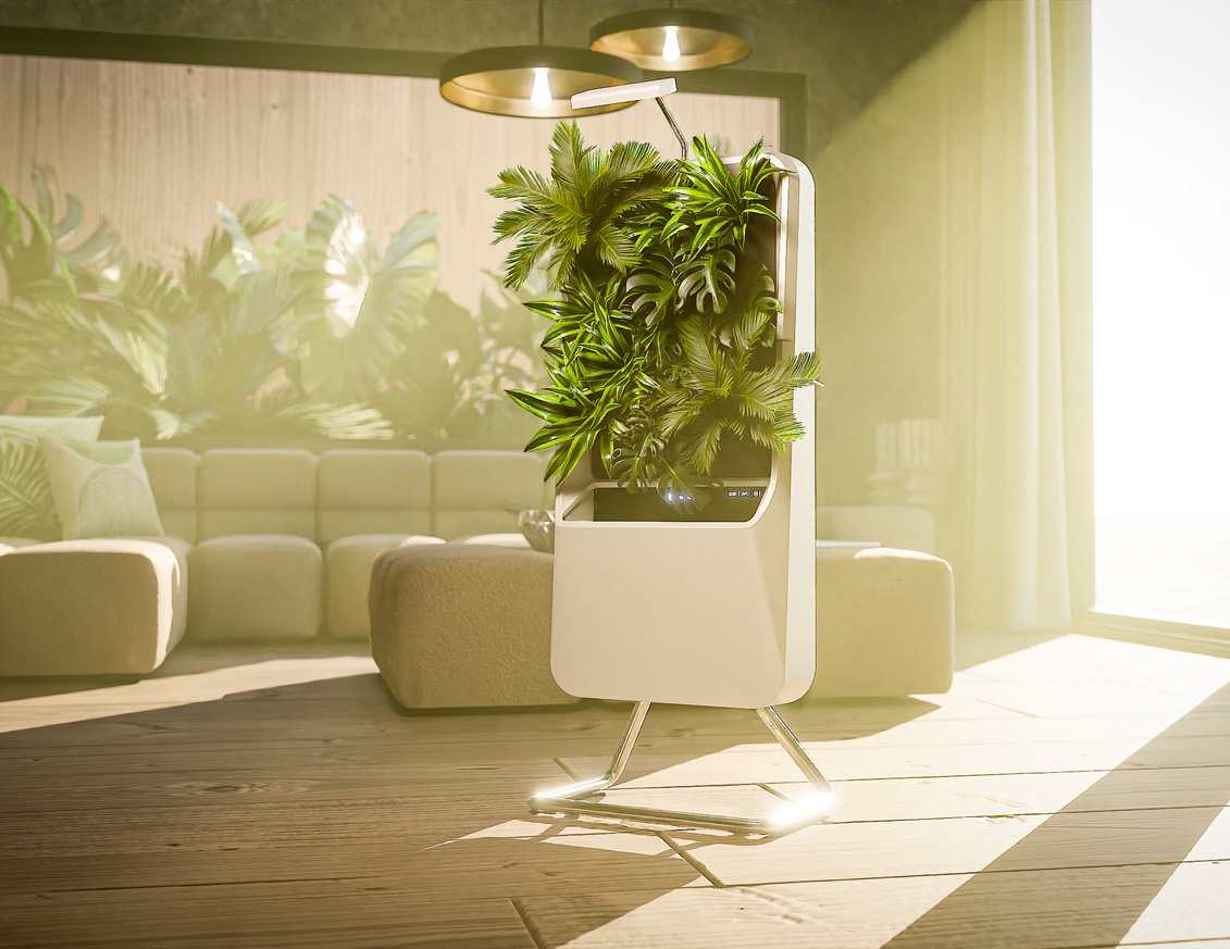 Respira Purifies the Air with Plants at werd.com