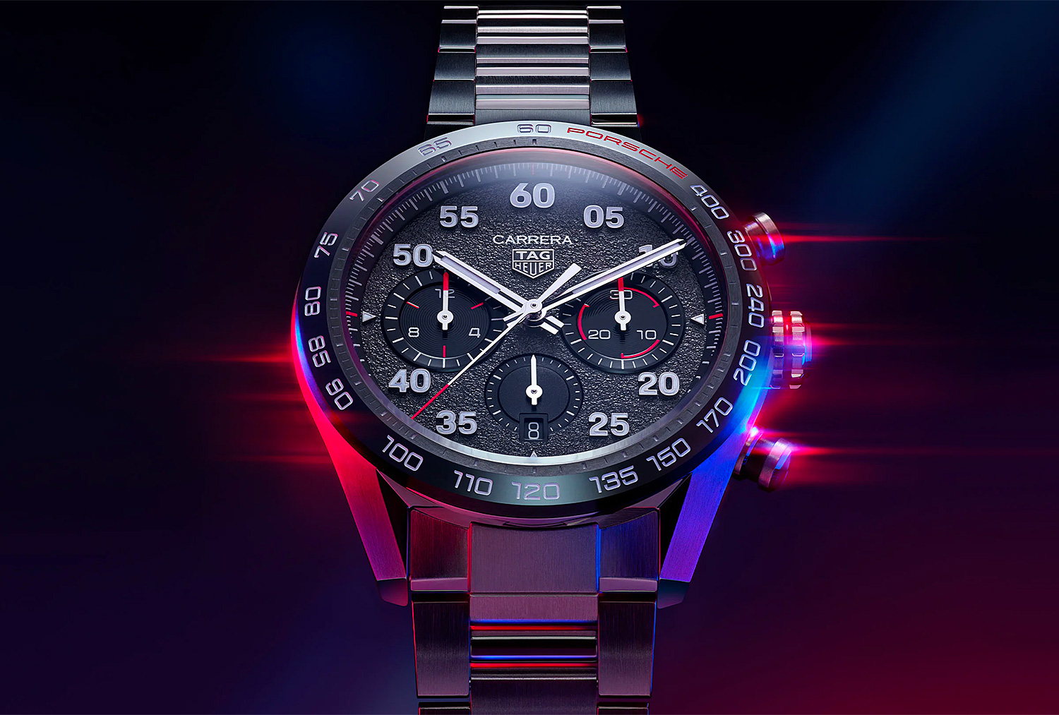 TAG Heuer & Porsche Create Carrera Porsche Chronograph at werd.com