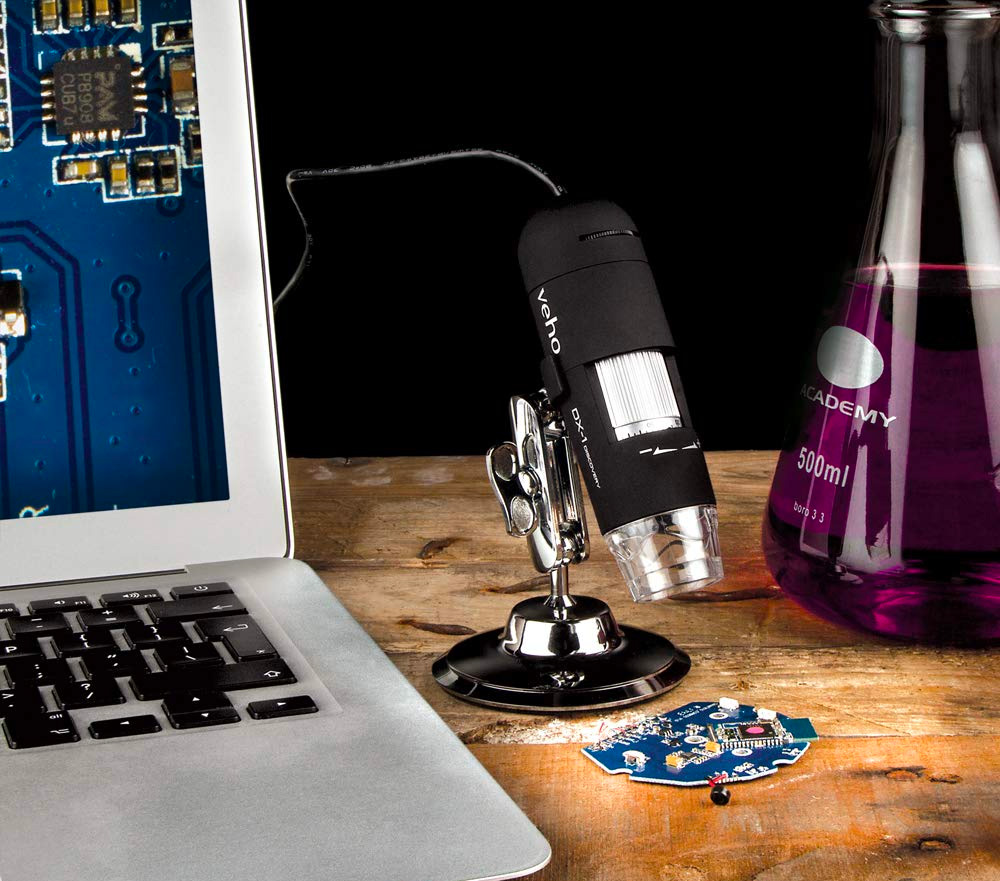 Expand Your Vision with Veho's Discovery USB Microscope at werd.com