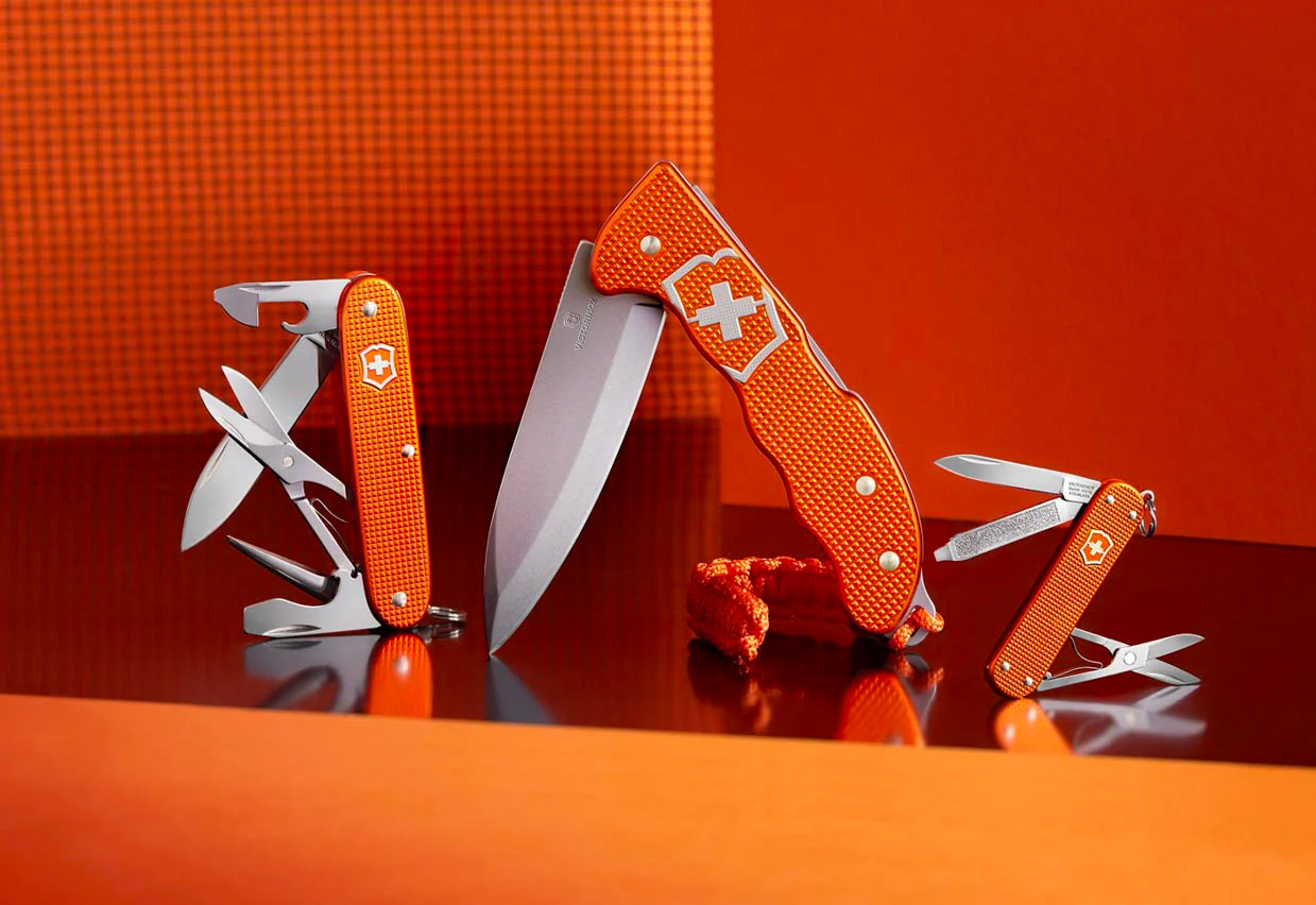 Victorinox Limited Edition Alox: High-Vis, High Performance at werd.com