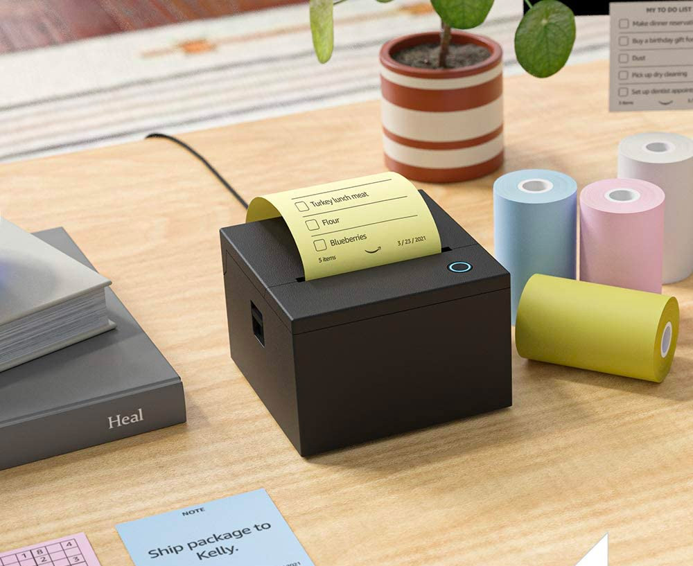 Let Alexa Do It: Amazon Introduces Smart Sticky Note Printer at werd.com
