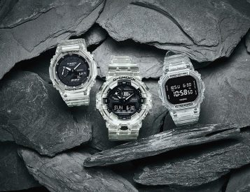 Casio Makes a Clear Case for Its Most Iconic G-Shocks