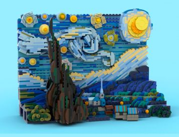 Lego Celebrates Van Gogh with Starry Night Set