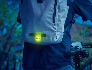 With Flashing LEDs, Nite Ize Makes Sure You're Seen