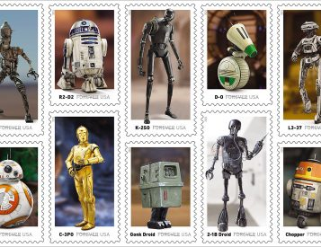 Send Terrestrial Mail with <i>Star Wars</i> Stamps