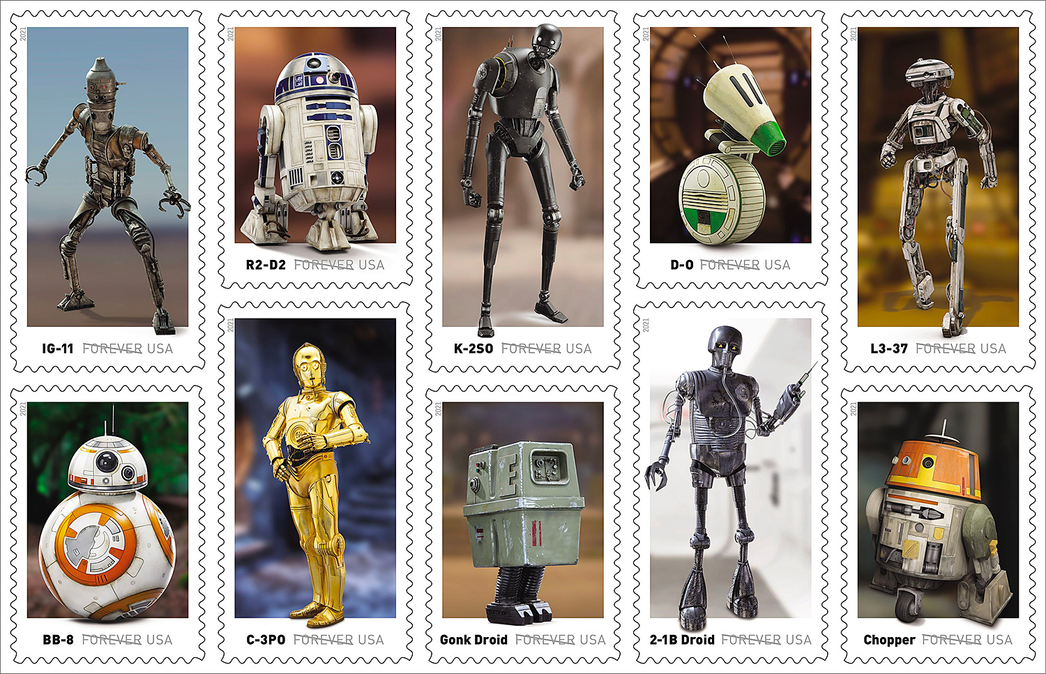 Send Terrestrial Mail with <i>Star Wars</i> Stamps at werd.com