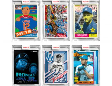 Topps Celebrates 70 with Artist Edition Project 70 Cards