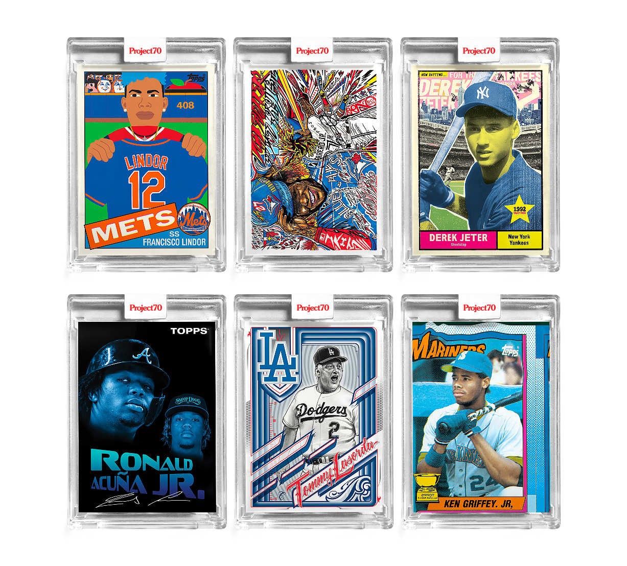 Topps Celebrates 70 with Artist Edition Project 70 Cards at werd.com