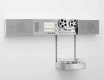 Braun x Virgil Abloh 2021 Wandanlage Hi-Fi Audio System
