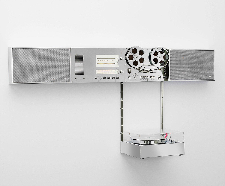 Braun x Virgil Abloh 2021 Wandanlage Hi-Fi Audio System at werd.com