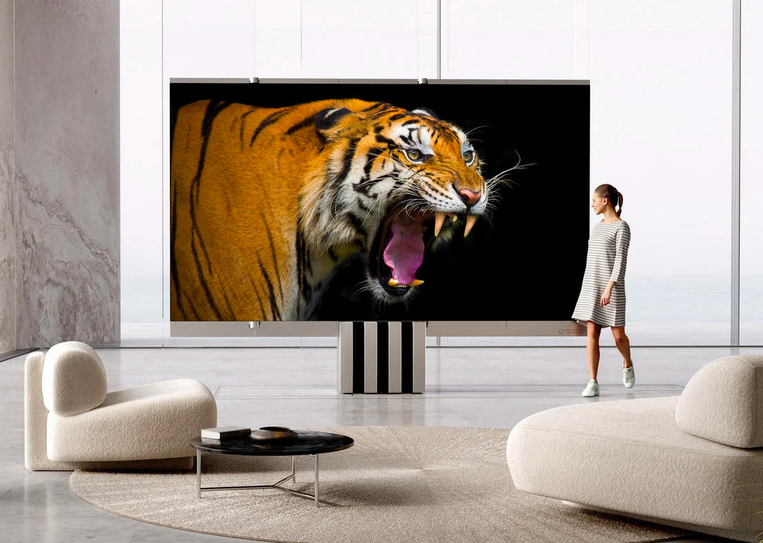 The C-Seed M1 is a Ridiculous, Retractable MicroLED TV at werd.com