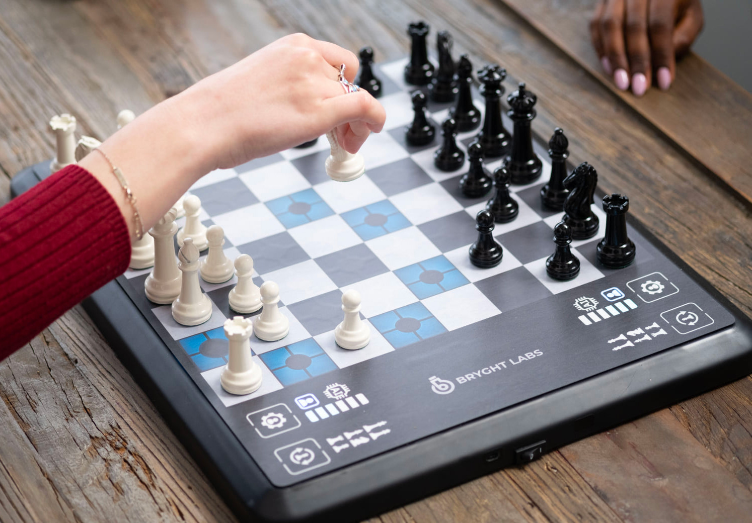 The ChessUp Connected Chess Board is Your Live Instructor at werd.com