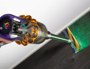 Dyson's V15 Detect Hunts Dirt with Laser Vision