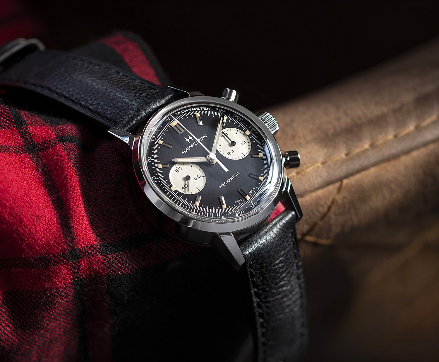 Vintage Vibe: Hamilton's Intra-Matic Chronograph H at werd.com