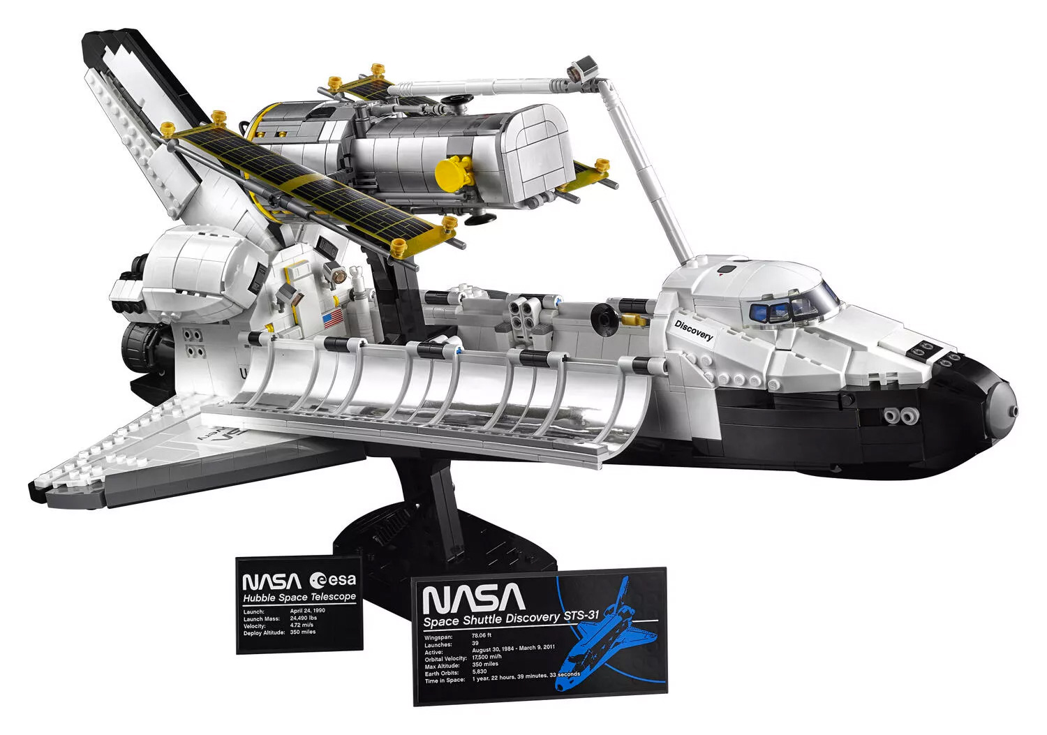 Lego Launches 2,354-Piece Space Shuttle Discovery Set at werd.com